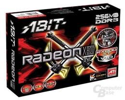 Verpackung der neuen Abit X800 XT