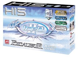 HIS Excalibur X800 Pro IceQ 2 Verpackung