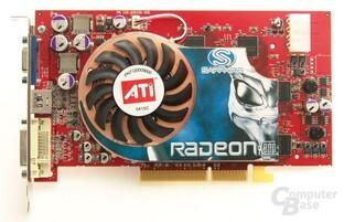 Fronatlansicht der neuen Sapphire Radeon X800 Pro