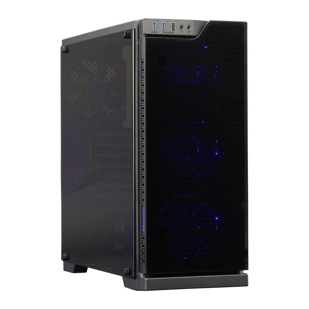 Cooltek TG-01 Blau & RGB