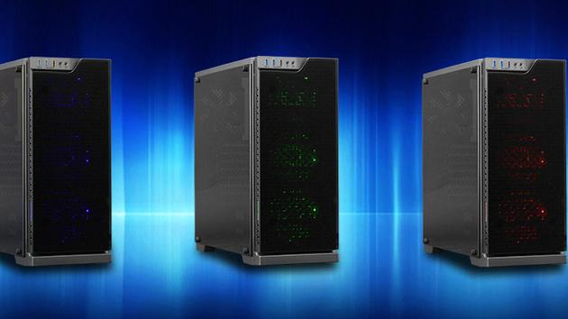 Cooltek TG-01: Gläserner Midi-Tower mit Beleuchtung ab 50 Euro