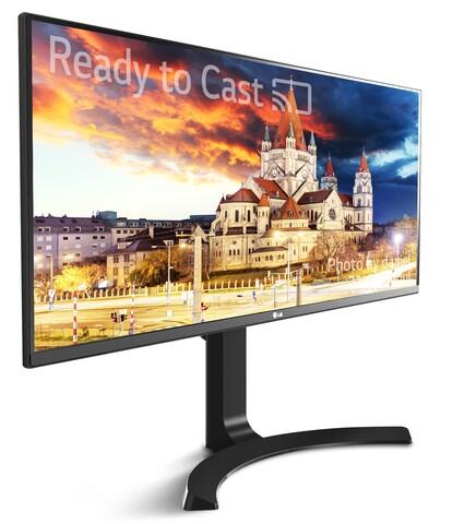 Chromecast-Monitor 34UM79