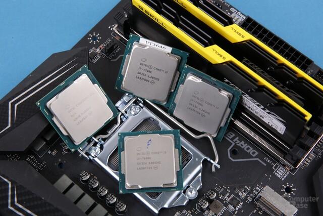 Intel Kaby Lake im Test: Core i7-7700K und i5-7600K