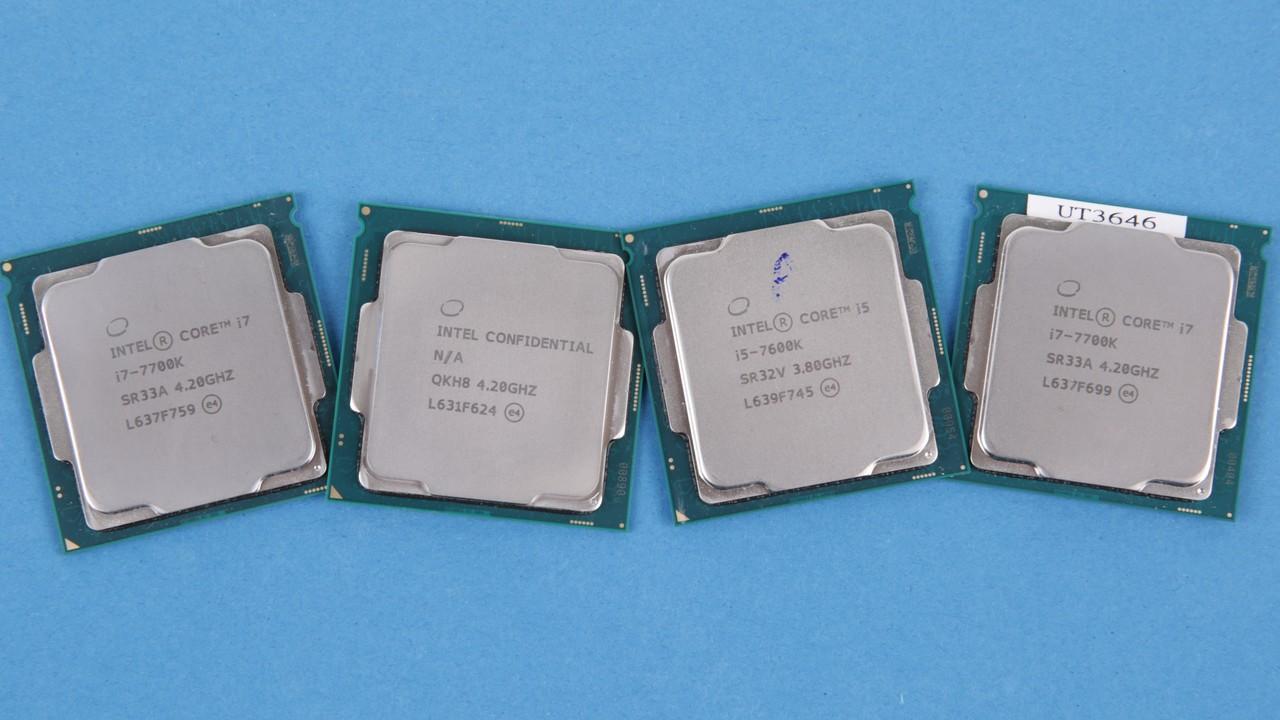 Intel Kaby Lake Im Test Core I7 7700k Und I57600k Mit Aggressivem Processor Turbo Computerbase