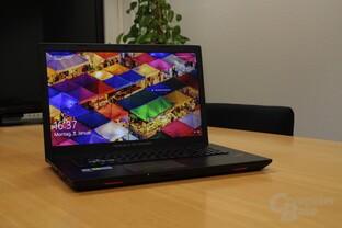 Das Asus GL753VD mit Intel Core i7-7700HQ