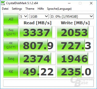 Gigabyte Aorus Z270X-Gaming 7: Zweiter M.2-Slot