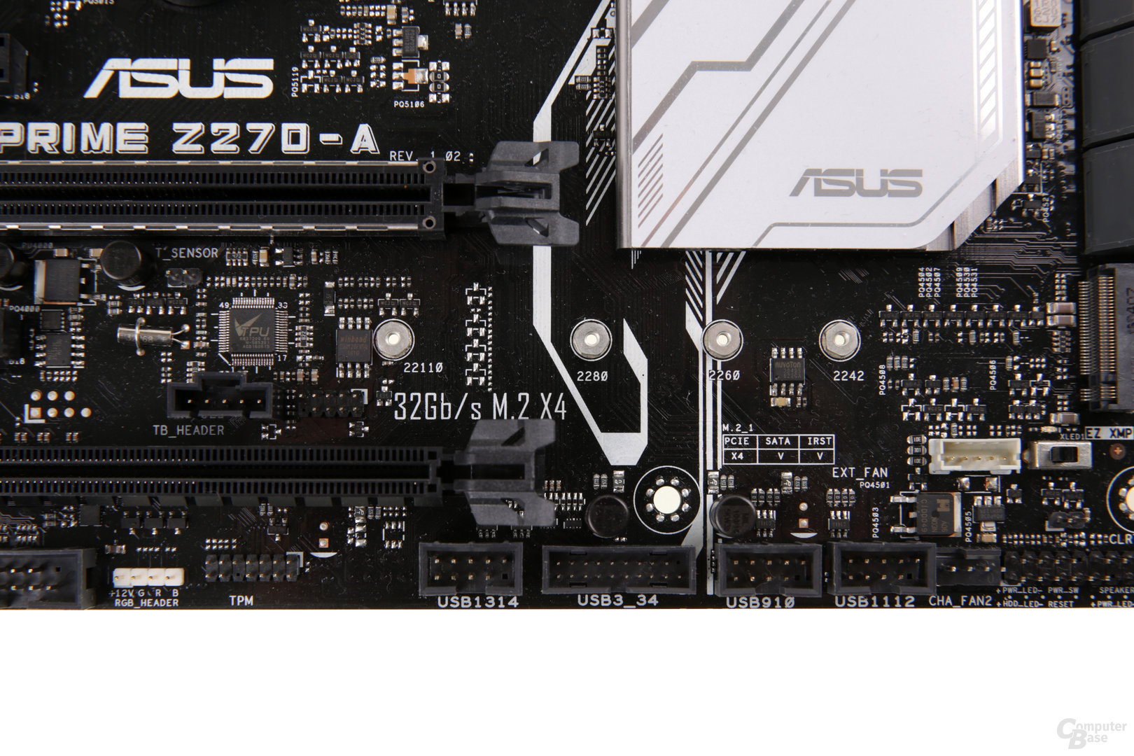 Z270-Platinen im Test: Asus Prime Z270-A