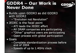 ATi Präsentation: GDDR4 Our Work is Never Done