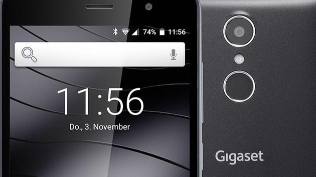 Gigaset GS160: Android-Smartphone für 149 Euro mit Fingerabdrucksensor