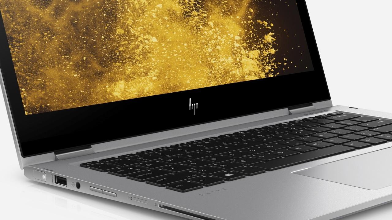 Business-Laptop: HP EliteBook x360 kommt mit James-Bond-Display
