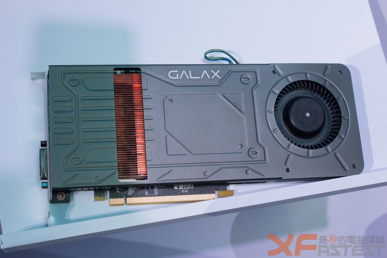 Flache GeForce GTX 1070 von Galaxy
