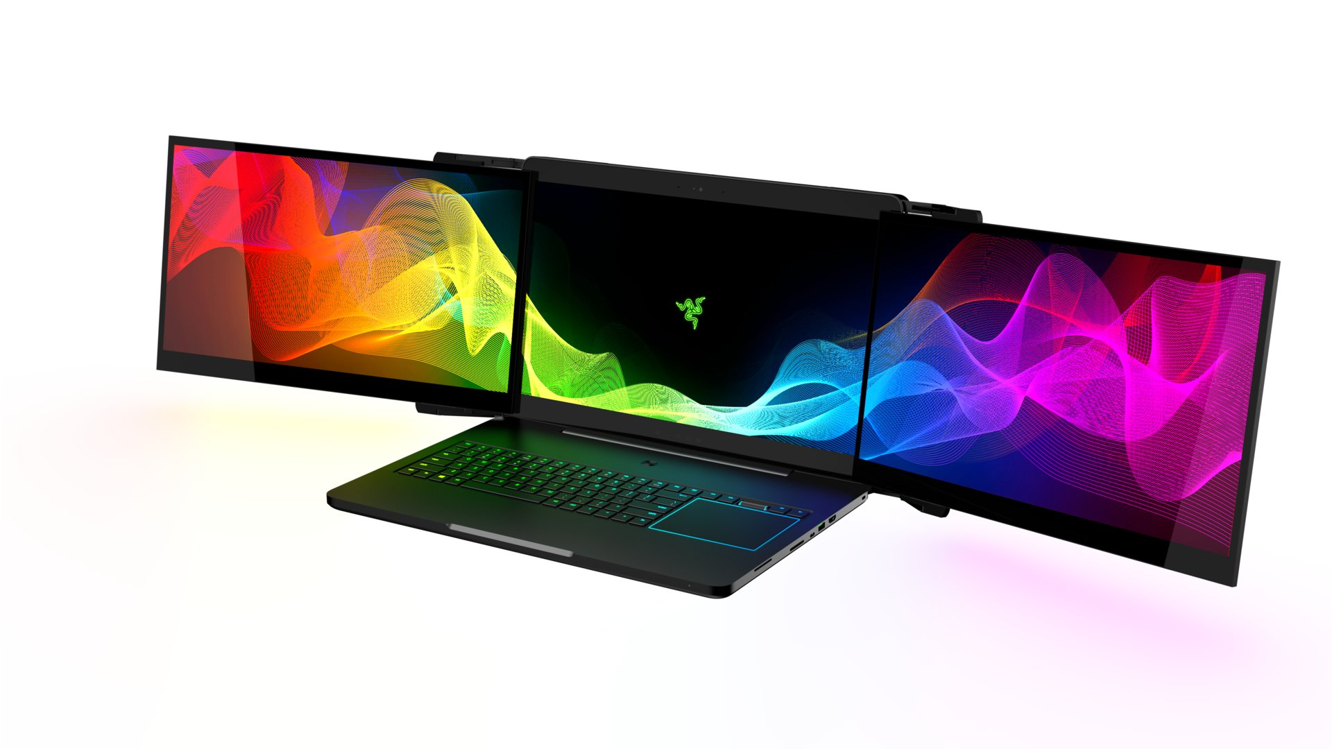 Razer Project Valerie als Triple-Monitor-Notebook