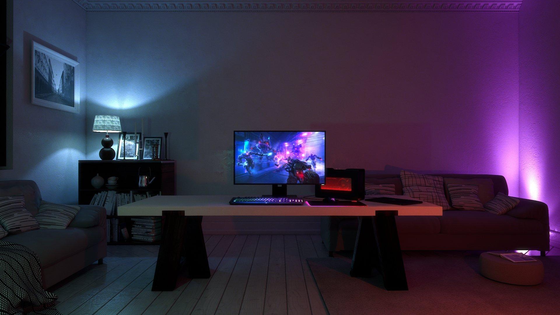 Auch Philips-Hue-Beleuchtung kann für Chroma genutzt werden