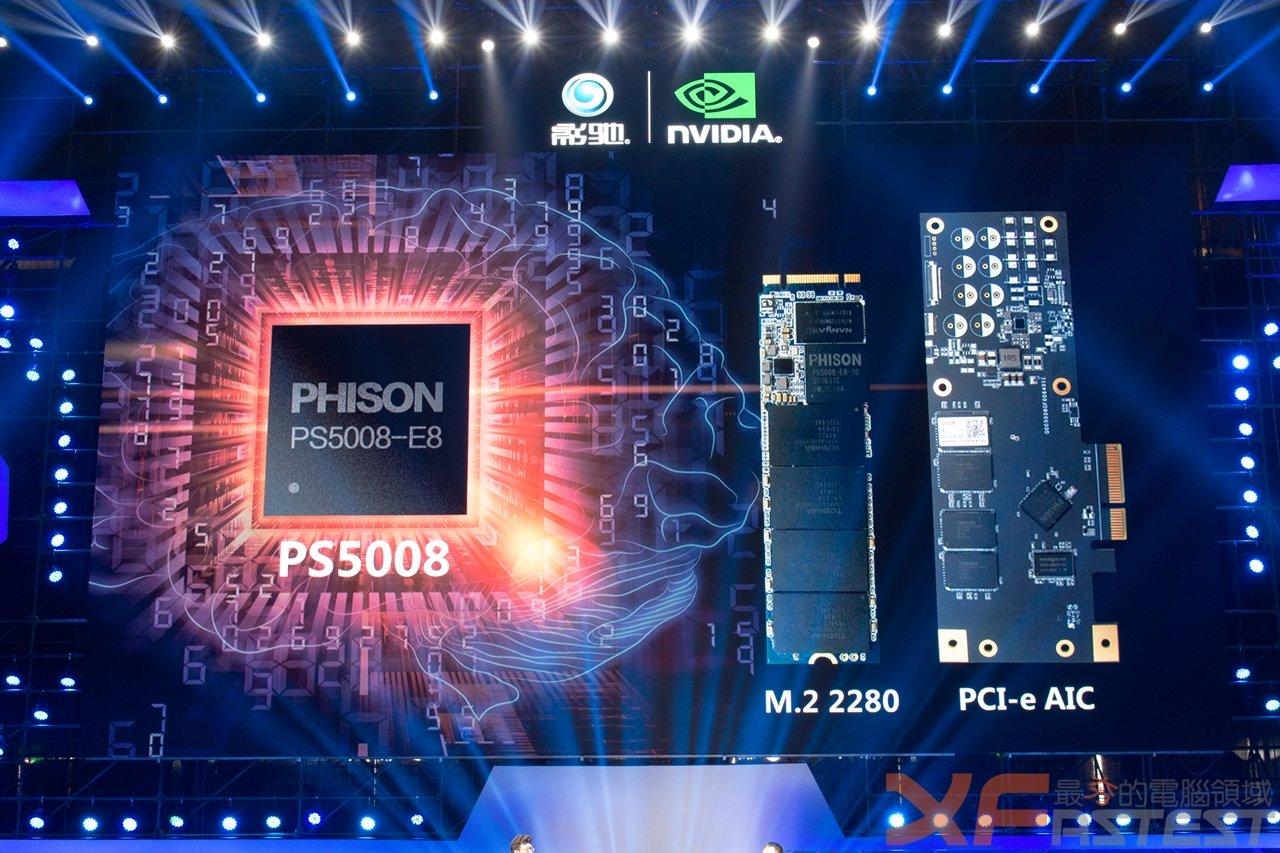 Phison PS5008 auf M.2-Modul und PCIe-Karte