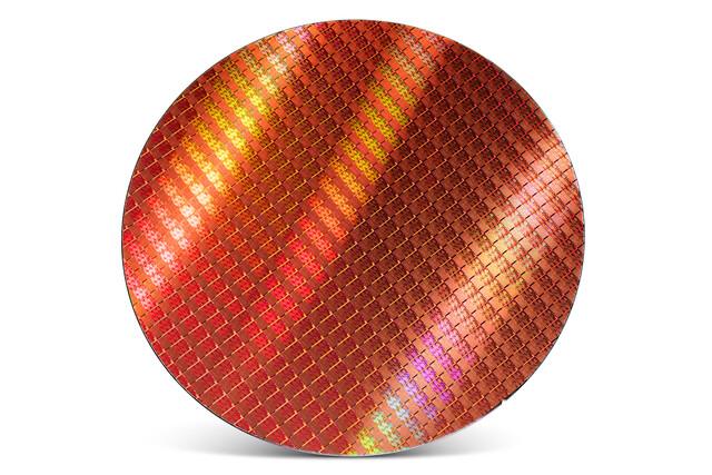 Intel Kaby Lake auf einem 300-mm-Wafer