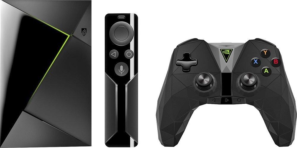 Neues Nvidia Shield mit neuem Controller und bekannter Fernbedienung