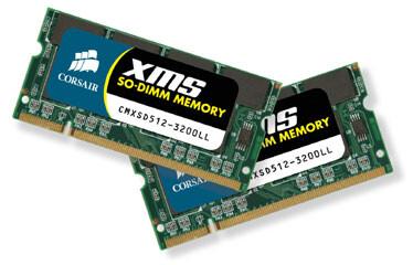 Corsair XMS SO-DIMMs