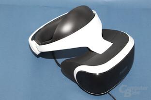 Das Headset bleibt trotz des hohen Gewichts bequem