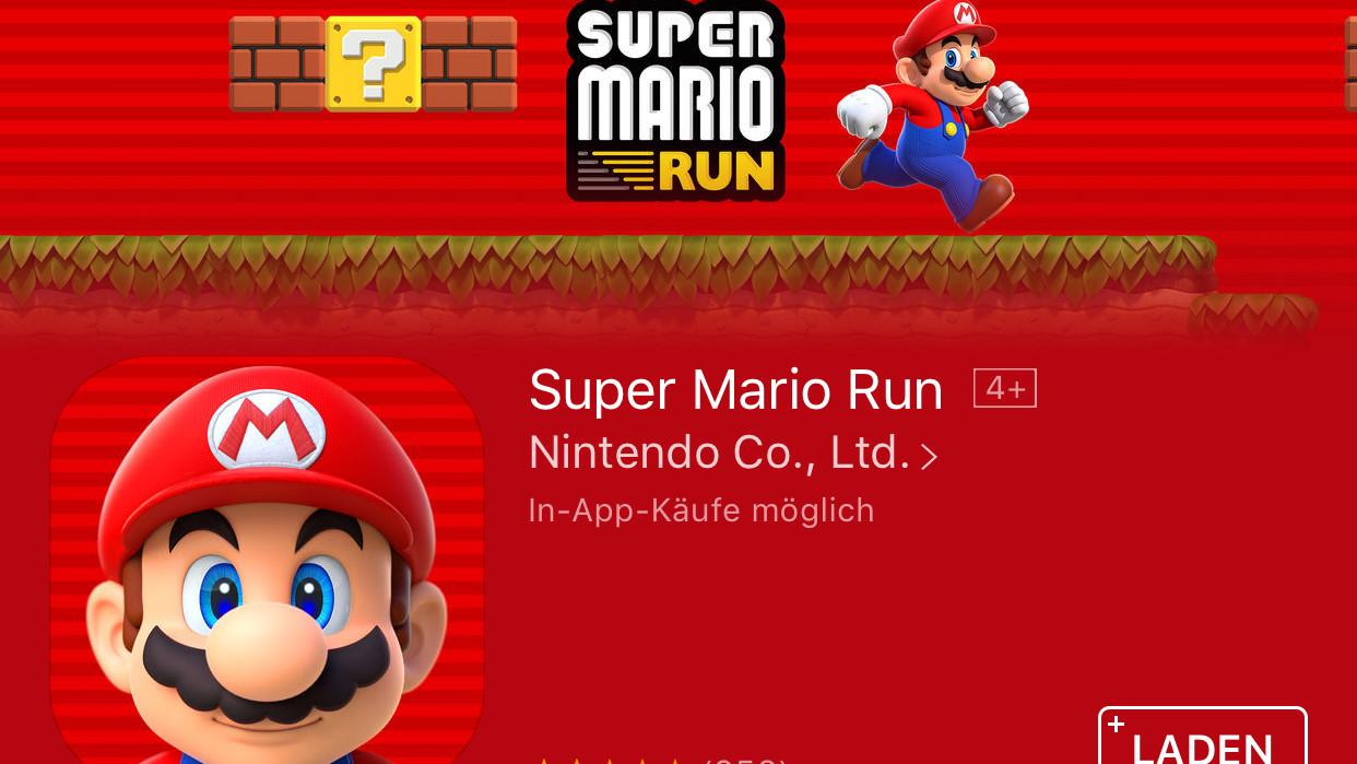 Super Mario Run: 40 Millionen Downloads aber kein Wort zum Umsatz