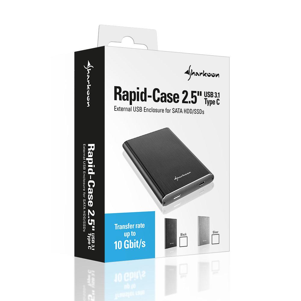 """Rapid-Case 2,5"""" USB 3.1 Type C"""