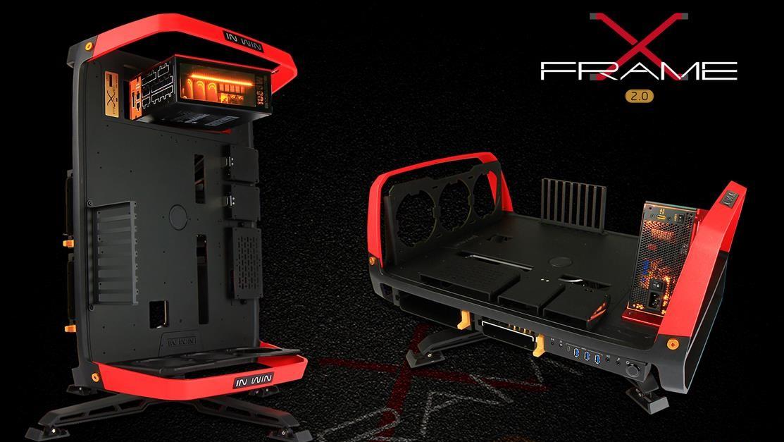 X-Frame 2.0: In Win mit extravagantem Design-Benchtable