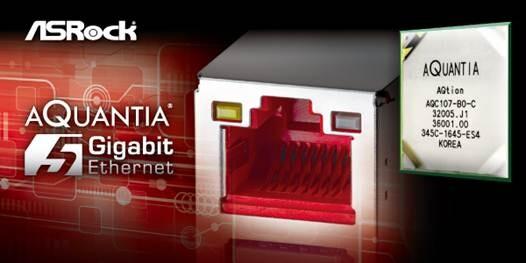 Aquantia AQtion client controller für 5Gbit-Ethernet