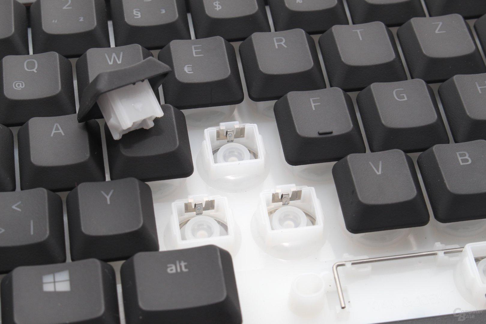 """Bis auf den """"Klickgenerator"""" zeigt sich die Technik unverändert"""