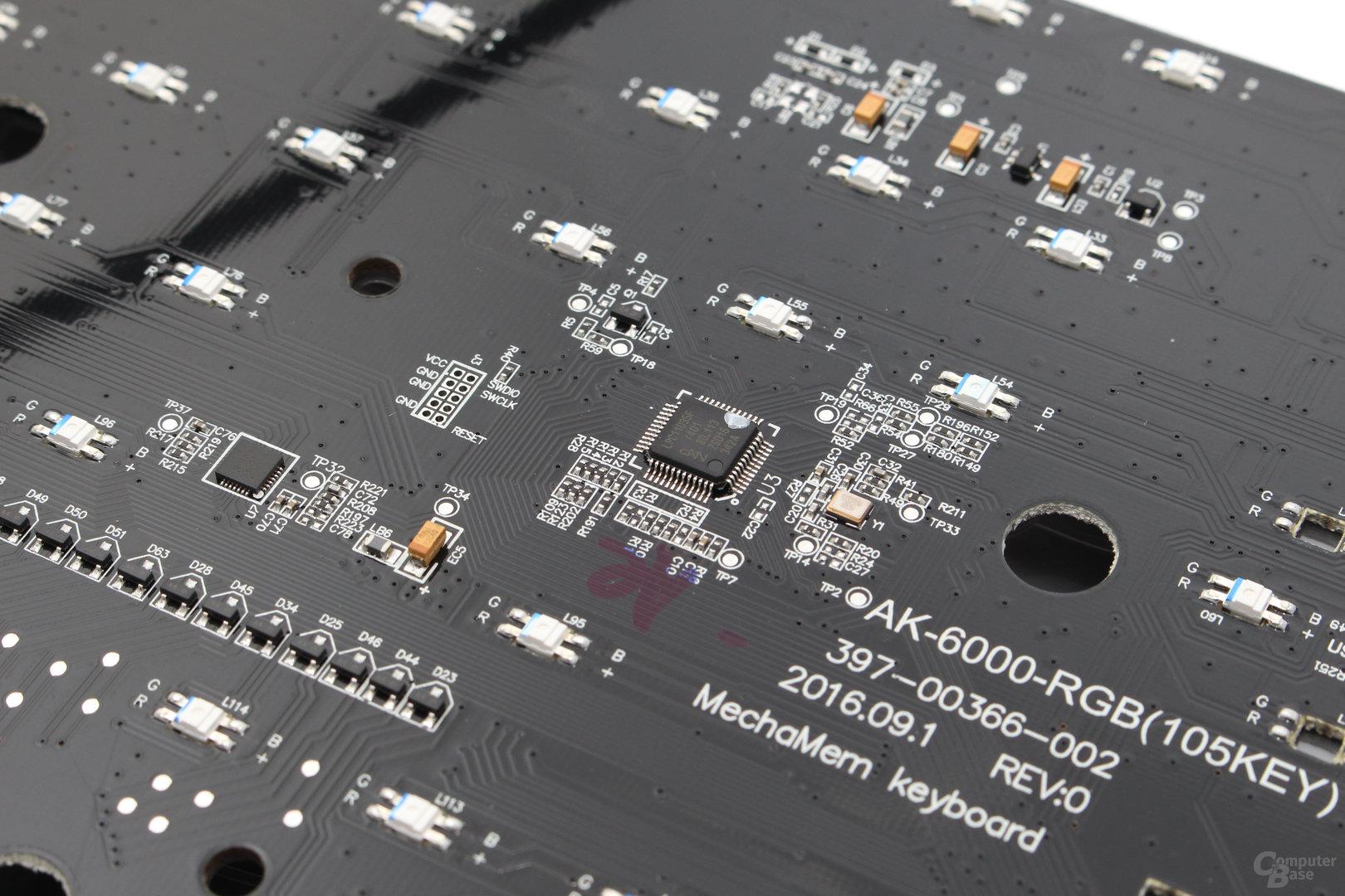 Mikrocontroller von NXP (LPC11U35F)