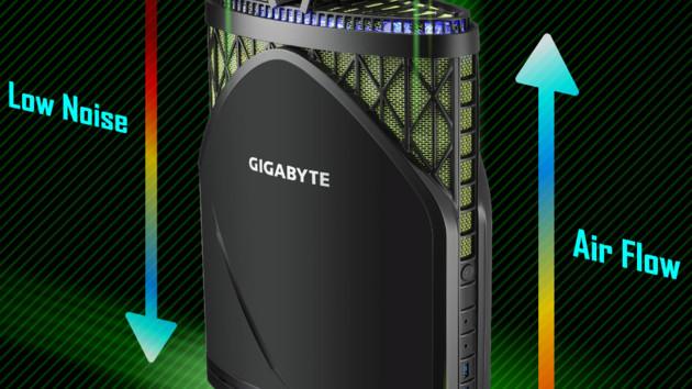 Gigabyte Brix GB-GZ1DTi7: Großer Mini-PC mit wechselbarer GeForce GTX 1080