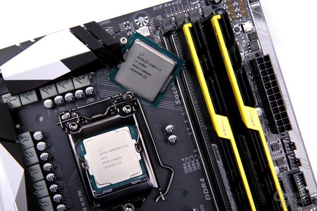 Intel Core i7-7700T trifft Vorgänger Core i7-6700T