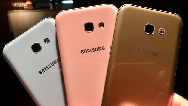 Galaxy A3 & A5 2017: Samsungs neue A-Serie rückt näher an das Galaxy S7