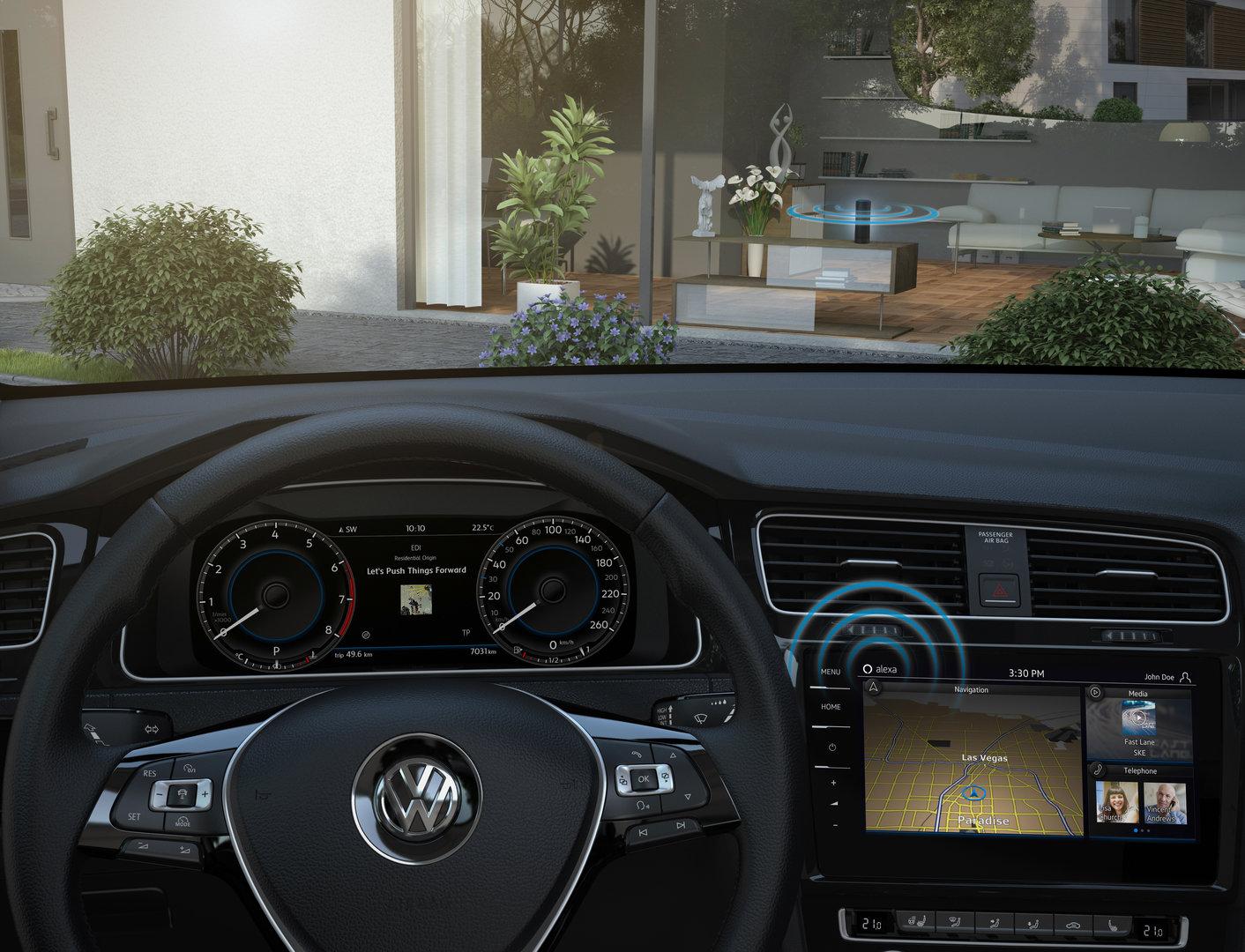 Amazon Alexa kommt in den Volkswagen