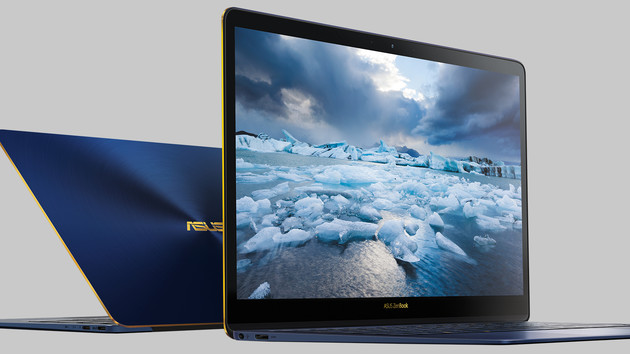 Edle Flachzange: Asus ZenBook 3 Deluxe quetscht 14 in 13 Zoll