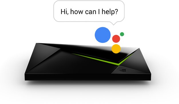 Shield mit Google Assistant