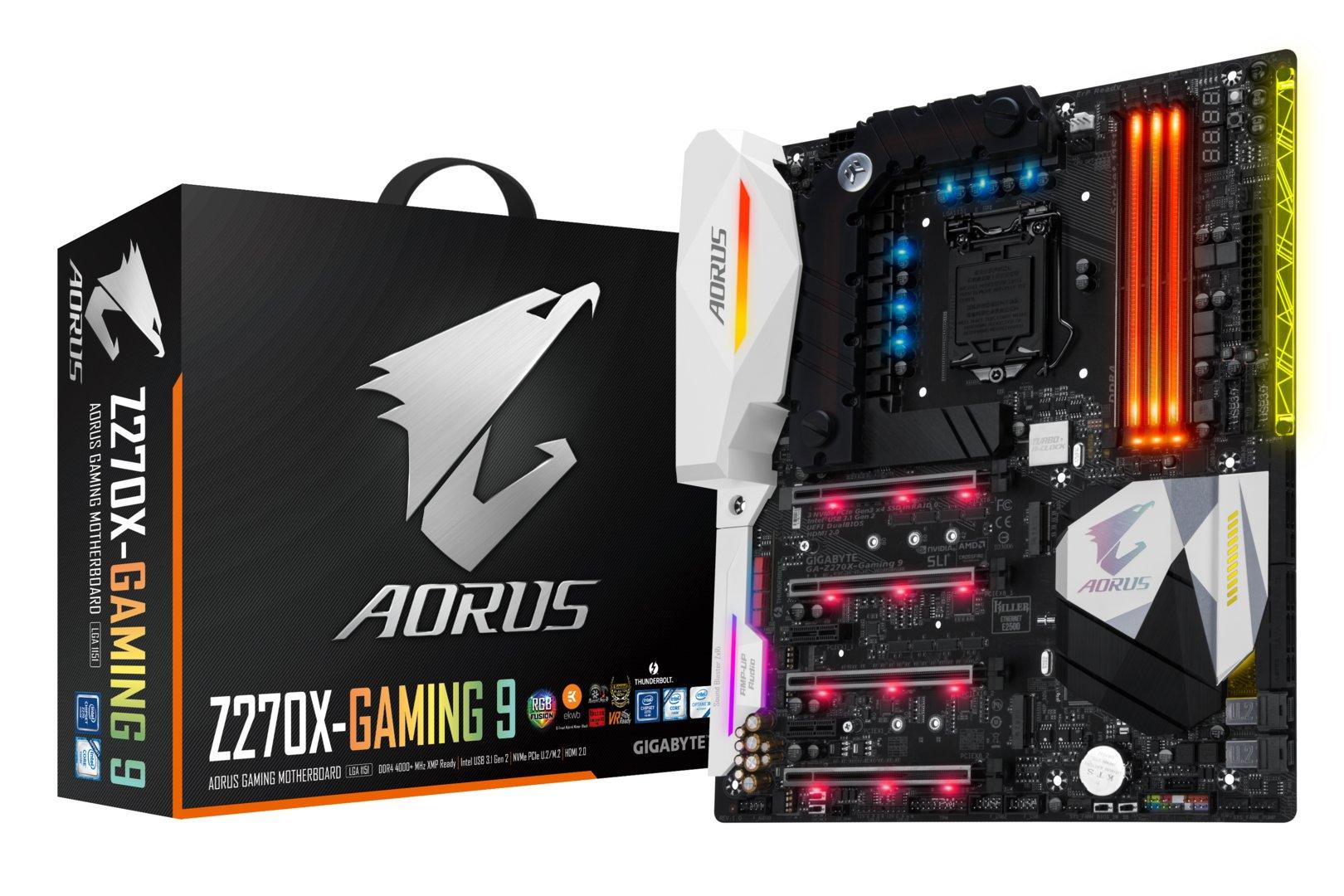 Gigabyte GA-Z270X-Gaming 9