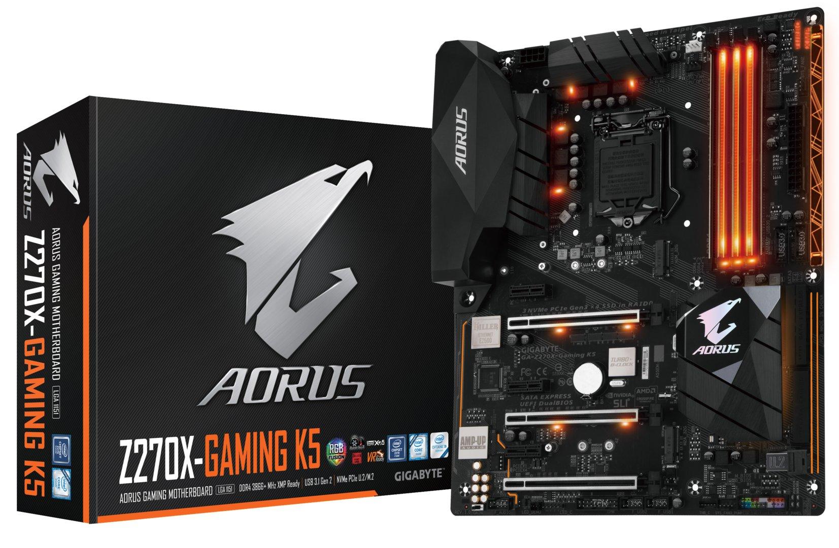 Gigabyte GA-Z270X-Gaming K5