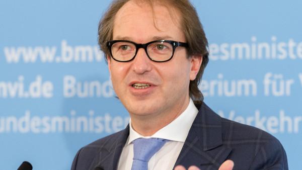 Verkehrsminister Dobrindt: Eigenständiges Ministerium für Digitalpolitik