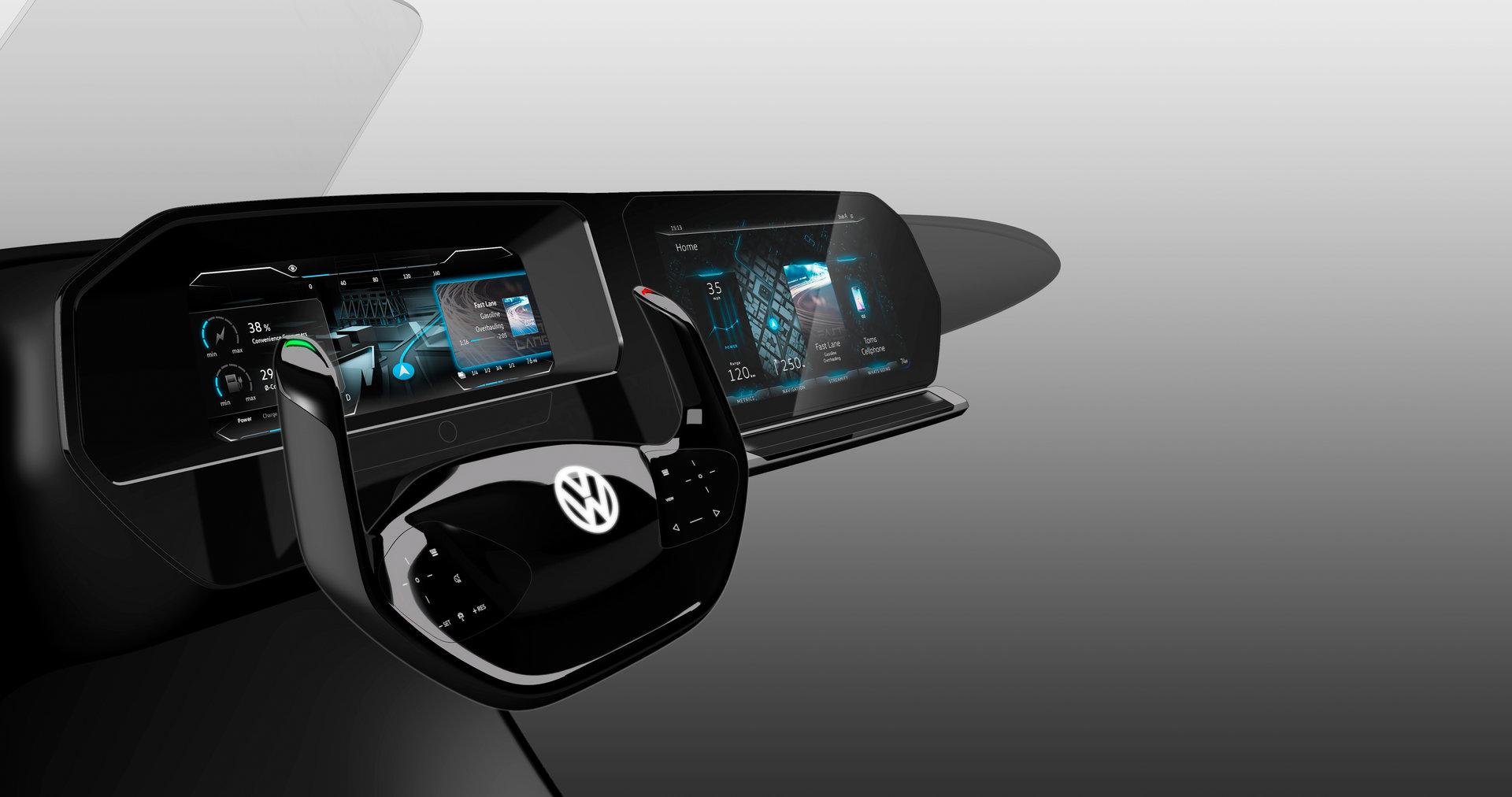 3D-Display mit zwei Darstellungsebenen