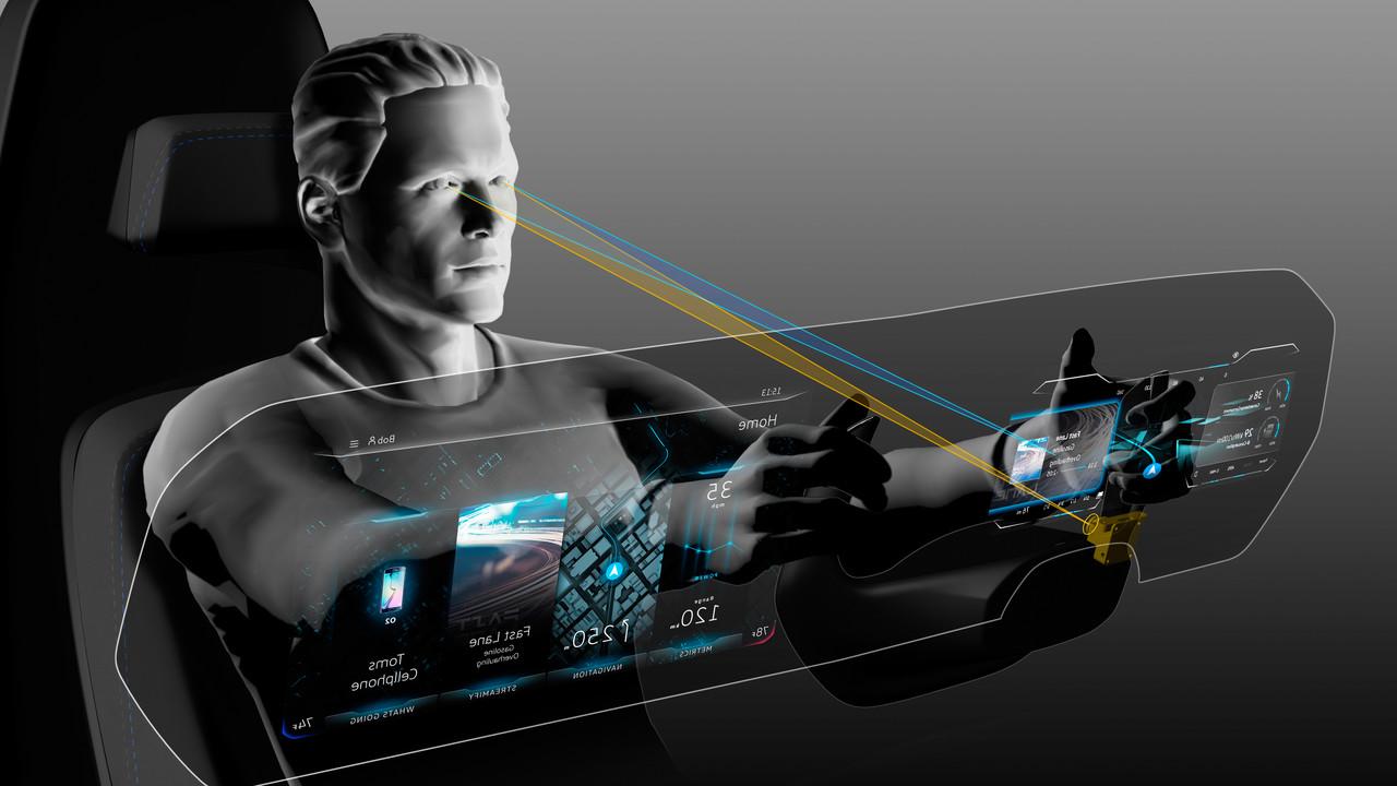 Pkw-Cockpit der Zukunft: VW kombiniert 3D‑Display mit Eyetracking und AR