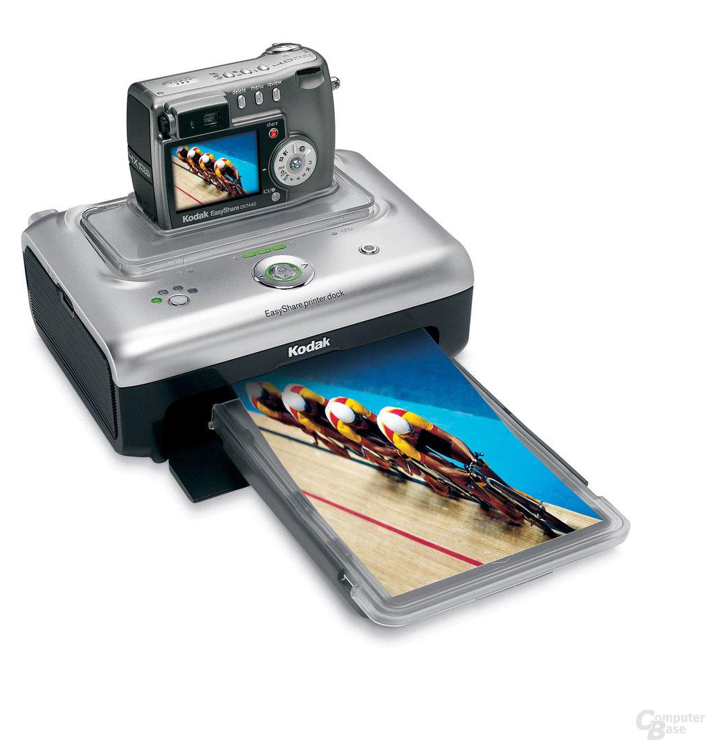 Kodak EasyShare DX7440 mit EasyShare Kamerastationen