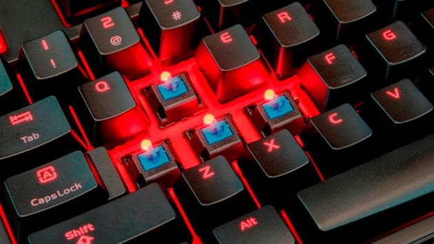 Tt eSports Meka Pro: Schlichte Mechanik-Tastatur mit Cherry MX