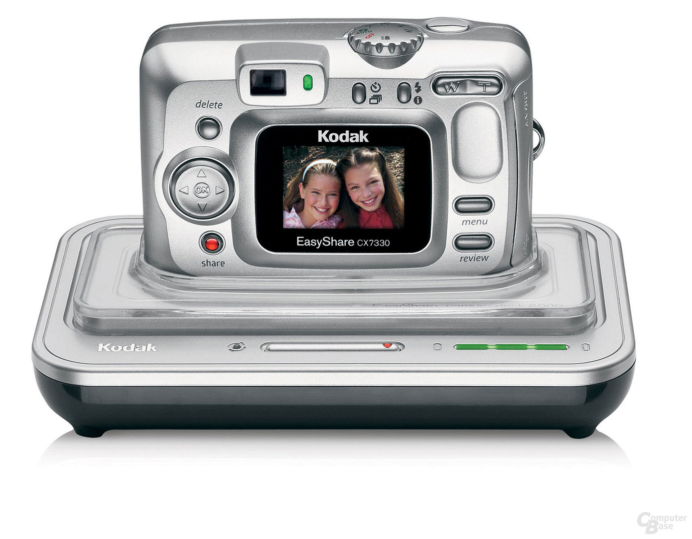 Kodak EasyShare CX7330 mit EasyShare Kamerastationen