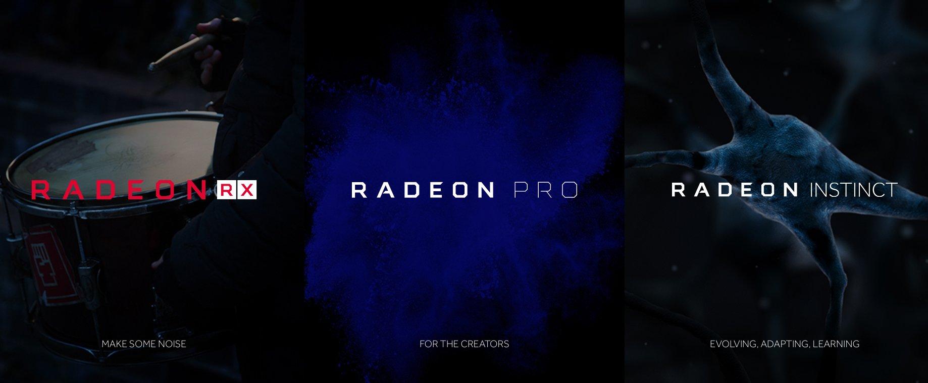 Vega kommt als Radeon RX, Pro und Instinct