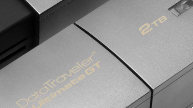 DataTraveler Ultimate GT: Kingston bietet ersten USB-Stick mit 2 Terabyte