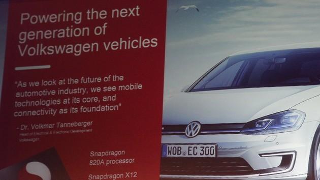 Qualcomm: Snapdragon 820A fährt ab 2019 auch bei VW mit
