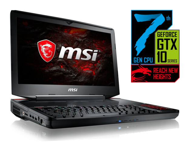 MSI GT83VR Titan mit optionalem Core i7-7920HQ