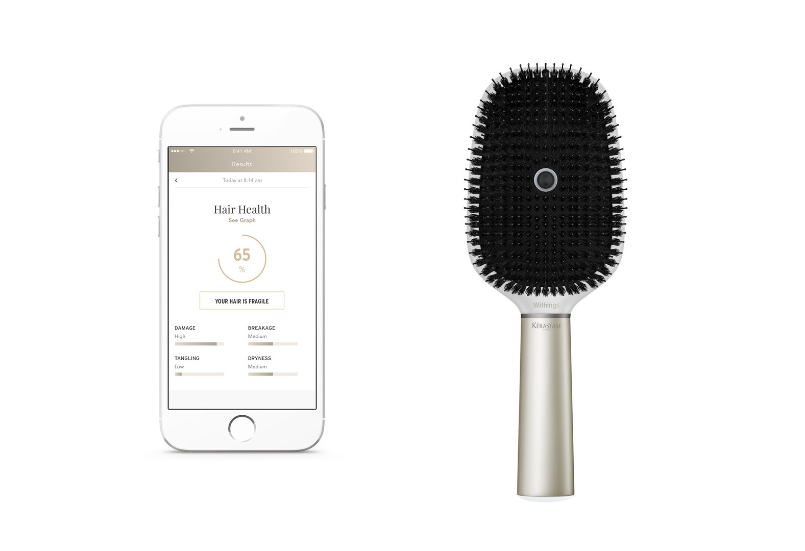Kérastase Hair Coach Powered by Withings