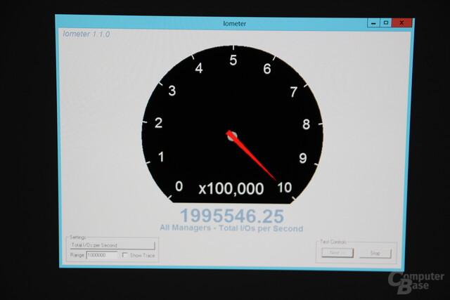 2 Mio. IOPS mit zwei Kingston DCP/DCU1000
