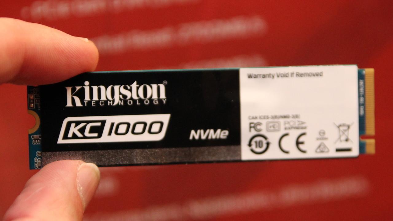 Kingston KC1000 und A400: Erste M.2-NVMe-SSD und günstige Wundertüte