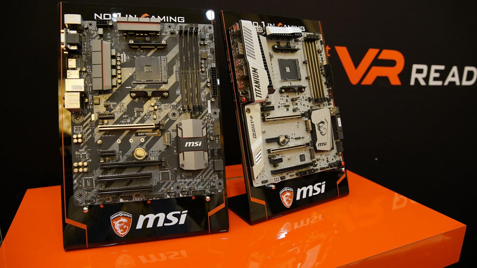 Erste AM4-Mainboards von MSI